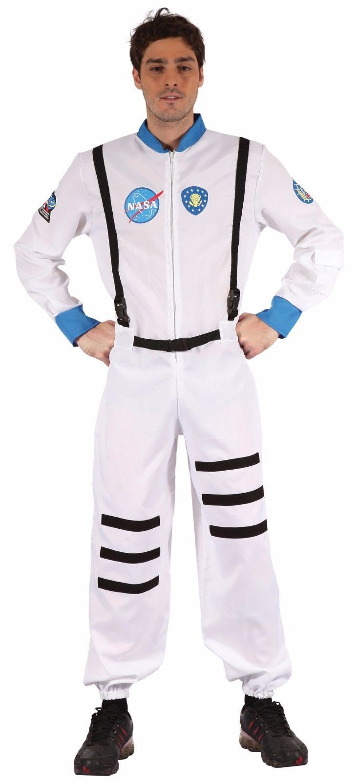Adult Women Astronaut Spaceman Costume Cosplay Party Suit Fancy Dress Outfits