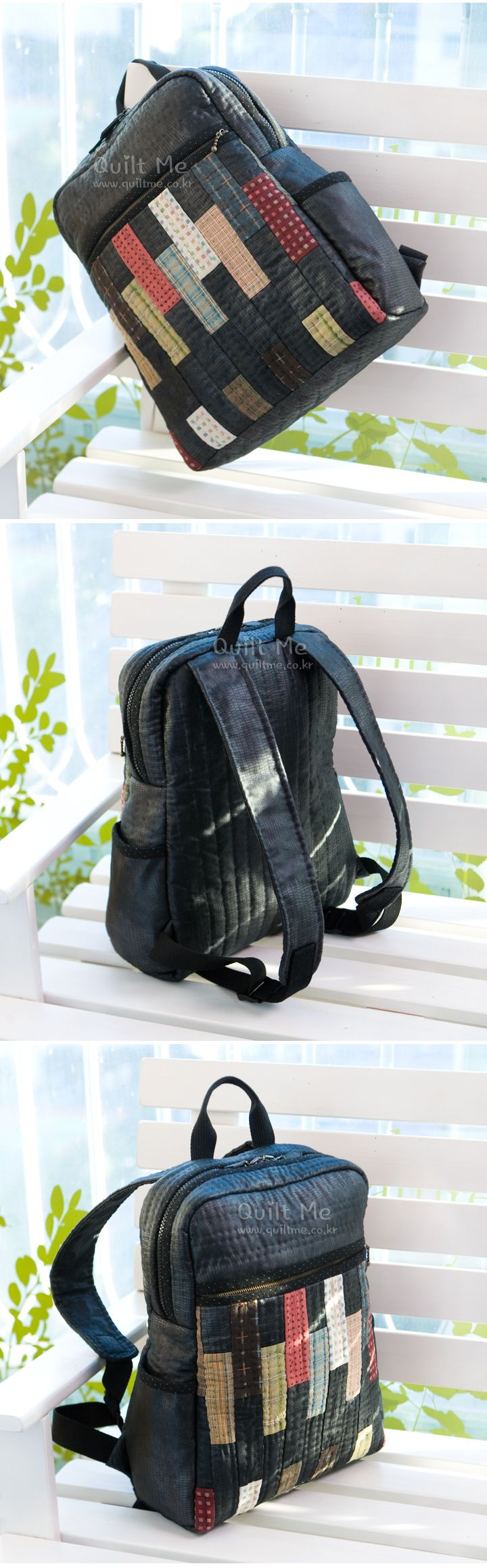 Korean website, so no pattern but nice backpack.