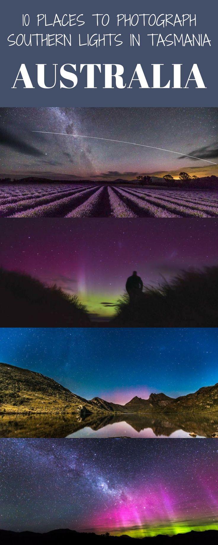Southern Lights Tasmania – Finden und Fotografieren von Aurora Australis