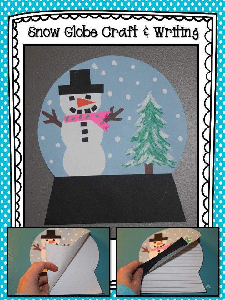 Snow Globe Craft & Writing