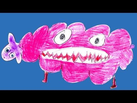 Community: This Is What Your Childhood Drawings Of Monsters Would Look Like In Real Life