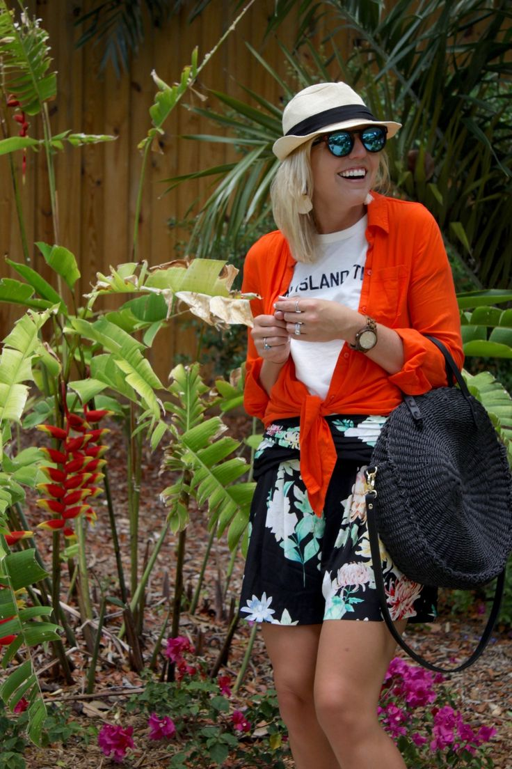 summer style floral shorts - Reese's Hardwear