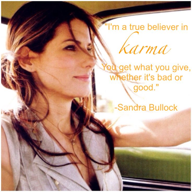 A little Monday motivation, courtesy of Sandra Bullock ♥
