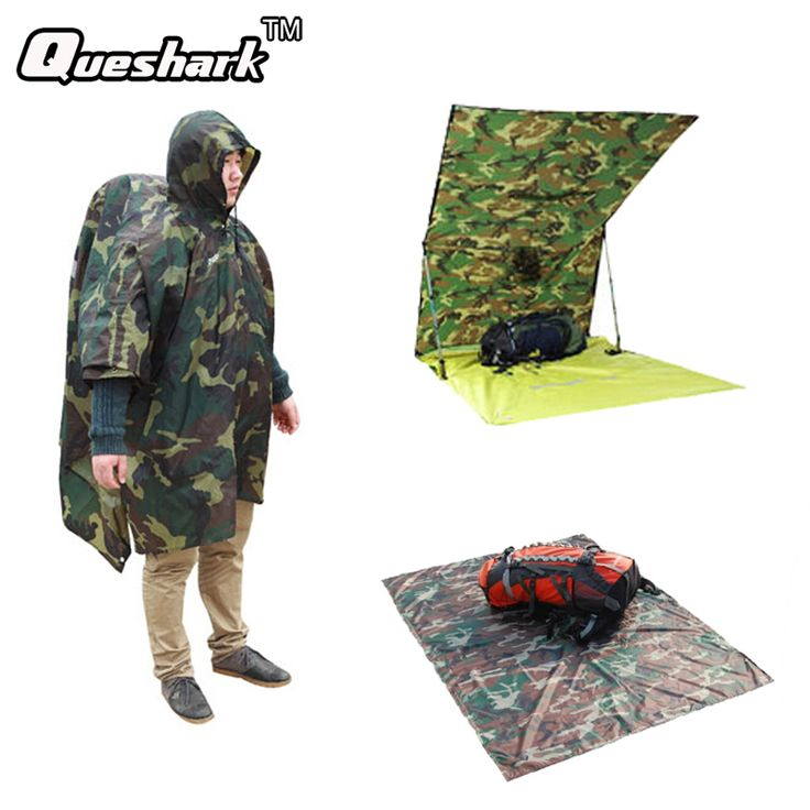 Compare Price 3 in 1 Multifunctional Raincoat Outdoor Travel Rain Poncho Backpack Rain Cover Waterproof Tent Awning Climbing Camping Hiking #Multifunctional #Raincoat #Outdoor #Travel #Rain #Poncho #Backpack #Cover #Waterproof #Tent #Awning #Climbing #Camping #Hiking