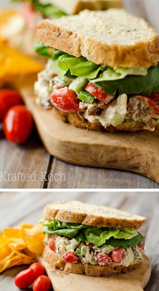 A light and easy lunch idea that is healthy and loaded with flavor!