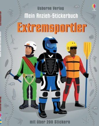 Mein Anzieh-Stickerbuch: Extremsportler: Amazon.de: Lisa Jane Gillespie, Emi Ordas: Bücher