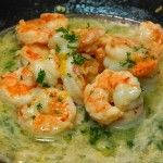Shrimp Scampi without butter! I'll try this because it sounds good, but we'll see!