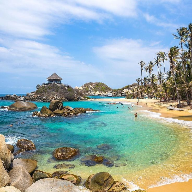 Cabo San Juan  Parque Nacional Natural Tayrona, Colombia. Photo Credit: @fabianvs via @southamerica