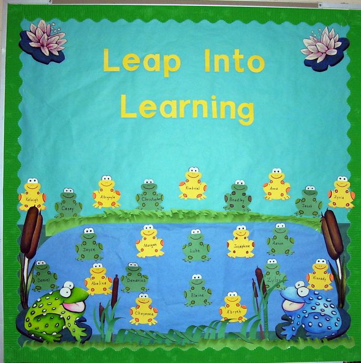 Bulletin Board, Door, & Wall Displays: Great site for ideas!