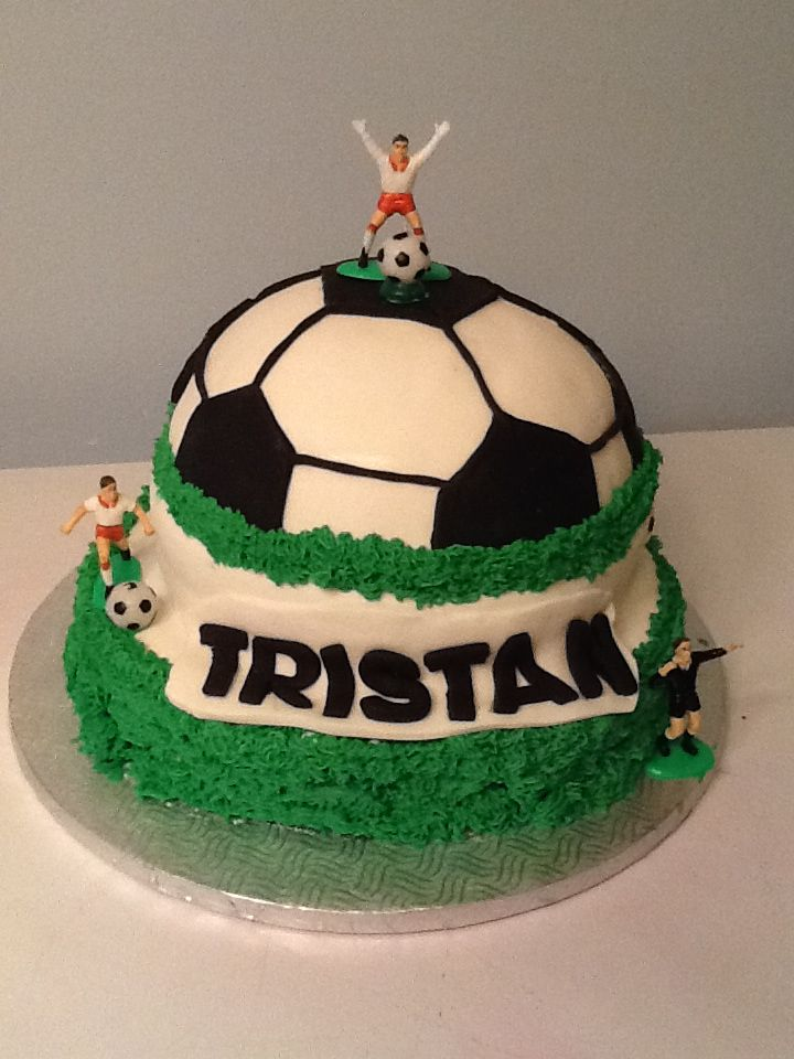 8th Birthday Soccer Cake