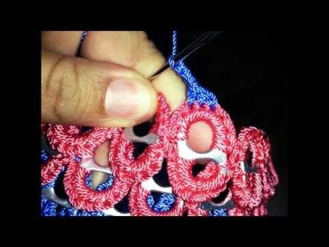 Mini bolsa con anillas forradas - YouTube