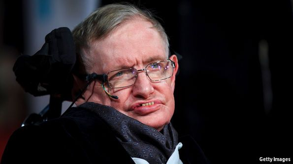 Even Stephen Hawking sometimes turns out to be wrong. Who better to put him right than himself?
