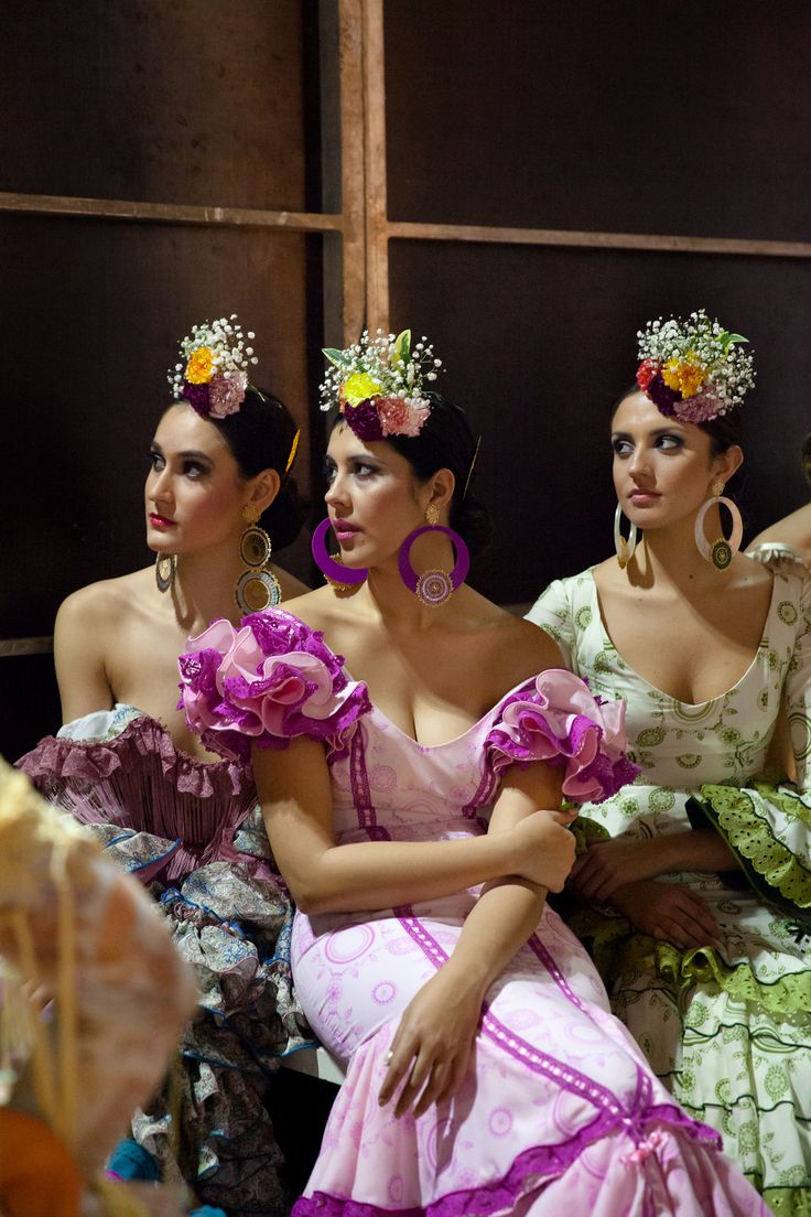 Flamenco Fashion Backstage Jessica Arneback Photography
