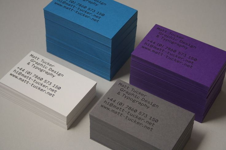 Matt Tucker Business Cards