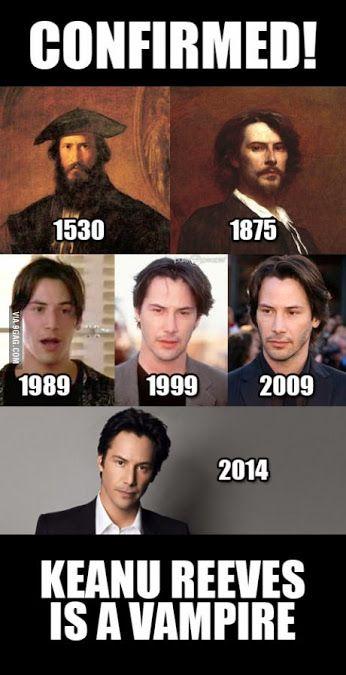 Keanu Reeves is a Vampire!