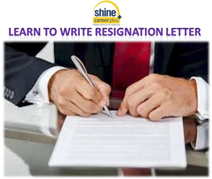 online get sample resignation letter