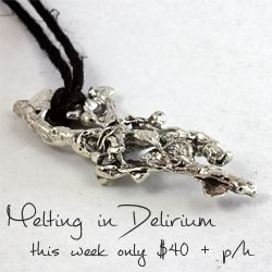This weeks special - I had heaps of fun making these decidedly ooak pendants!  Created from scrap sterling silver they're guaranteed never to be repeated. | http://www.tashachawner.com/shop/#!/~/category/id=5710199&offset=0&sort=normal (sorry about the clunky link!)