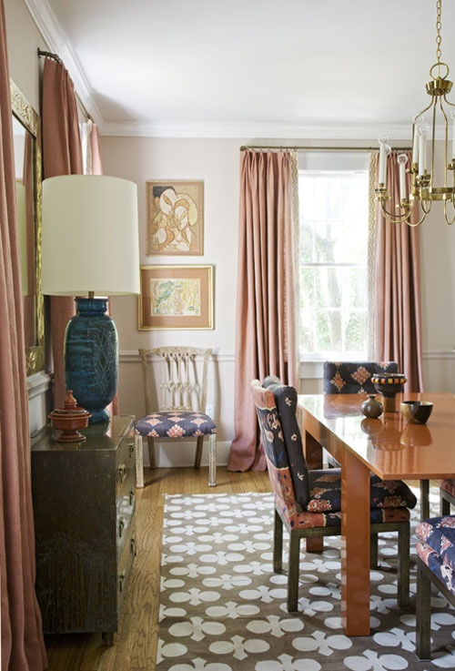 Angie Hranowsky's Double-Duty Dining Room in Charleston