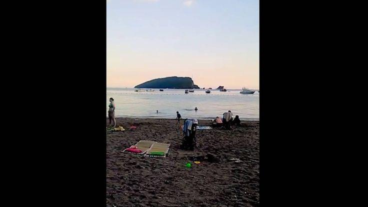 seara pe plaja budva, iunie 16