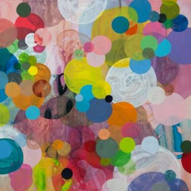 "Saatchi Art Artist Dennis Happé; Painting, ""Dotation #1"" #art"