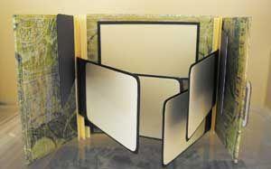 How To Make a Gatefold Mini Scrapbook
