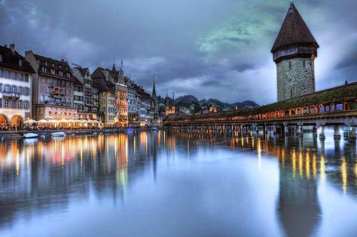lucerna. suiza central