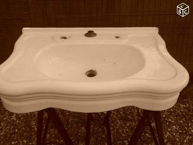 17 meilleures id es propos de lavabo ancien sur for Lavabo salle de bain retro