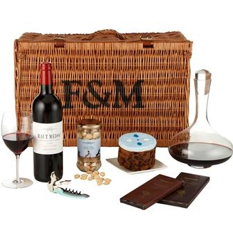 Fortnum & Mason's 'His Birthday Hamper'. £100.00