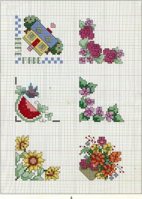 Cute Cross Stitch Design part2   Welcome Craft