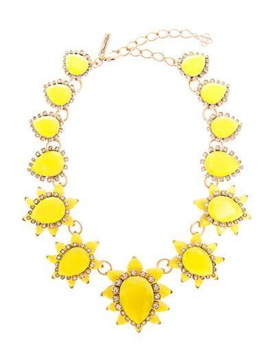 Starburst jewel necklace | Oscar De La Renta | MATCHESFASHION.COM
