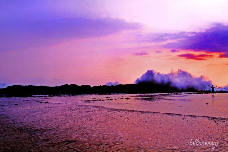 what a beautifull beach? (Sawarna, Banten, Indonesia)