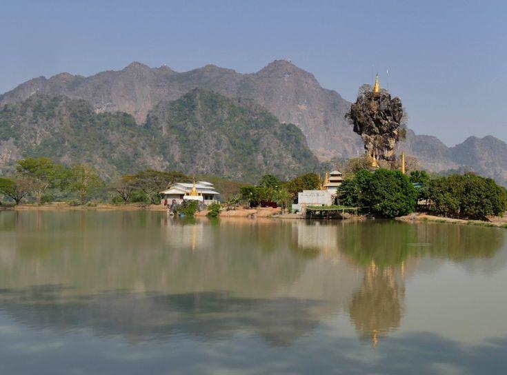 Hpa-an, das Heiligtum Kyauk Ka Lat