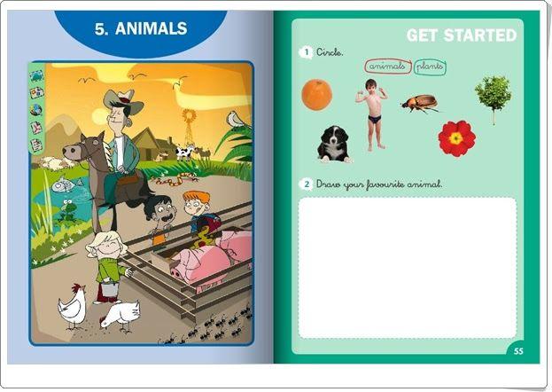 """Unidad 5 de Natural Science de 1º de Primaria: """"Other animals"""""""
