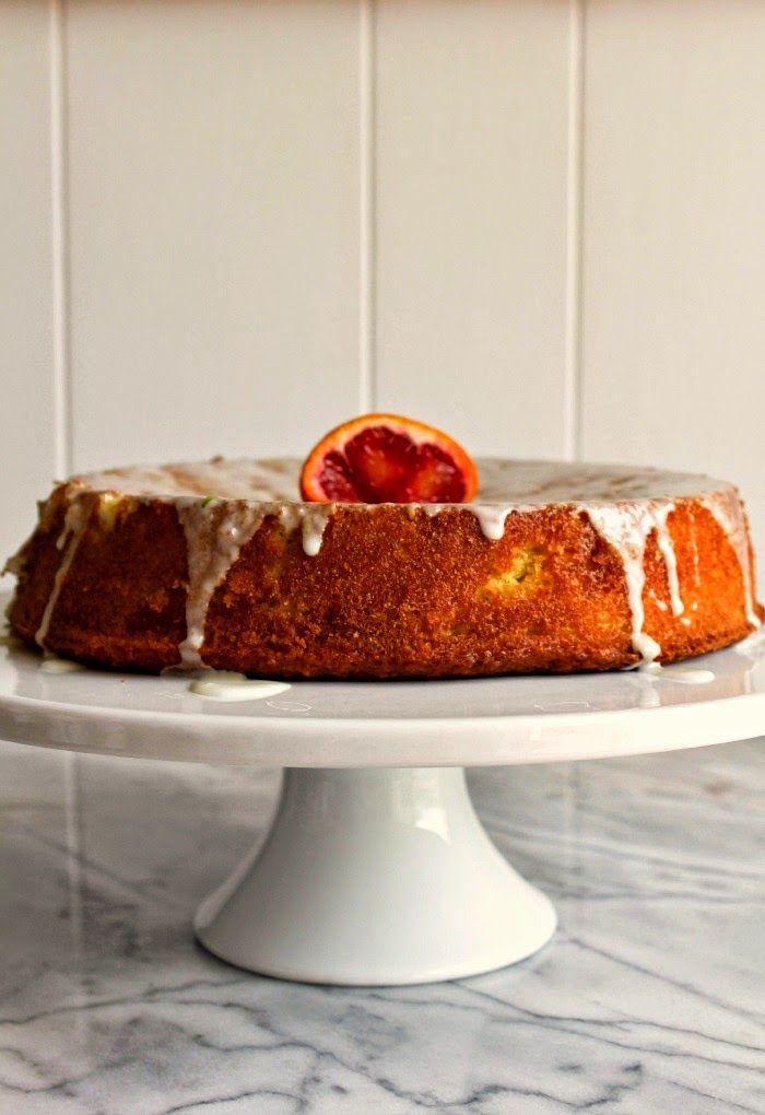 Blood Orange Olive Oil Cake   The Chef Next Door # ...