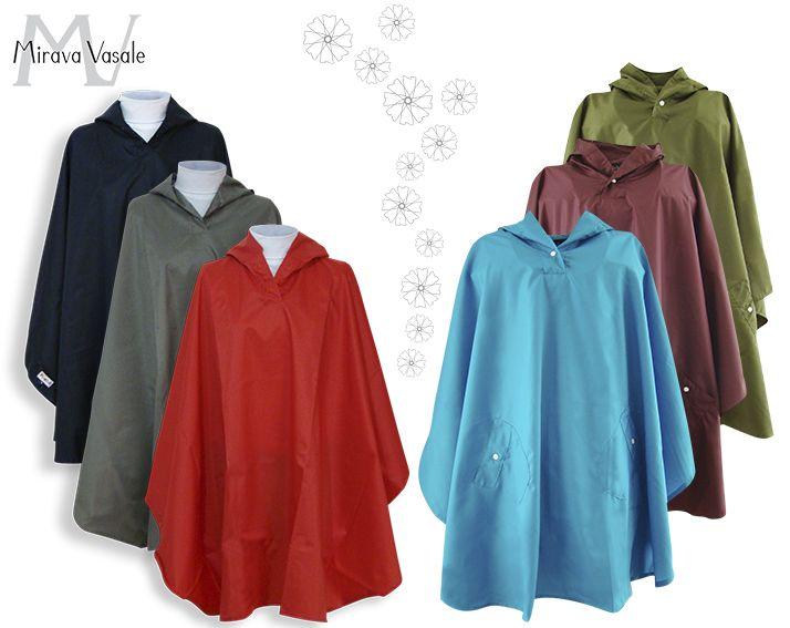 En temporada de lluvia Mirava Vasale te tiene capas de lluvia Elaboradas en tela impermeables, fácil de llevar. Contáctanos: contacto@miravavasale.com Movil/ WhatsApp: 320 8062012 www.miravavasale.com