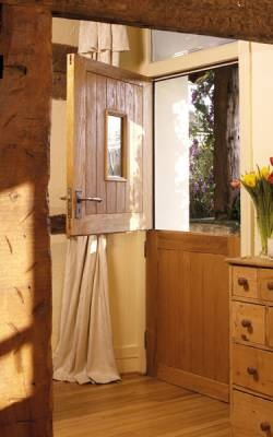 Would be great for keeping the house aired without the dogs walking muck straight in the house: Stable Oak door