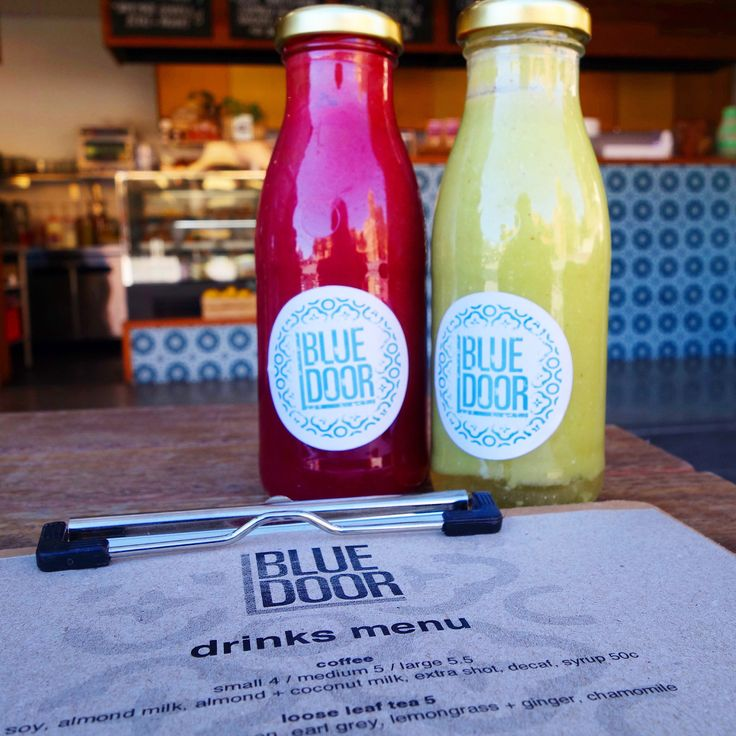 Raw blended blue-door smoothies. Fruit and vegetable blends @fredsbluedoor Newcastle