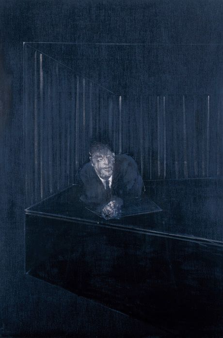 Francis Bacon / Man in Blue IV,1954