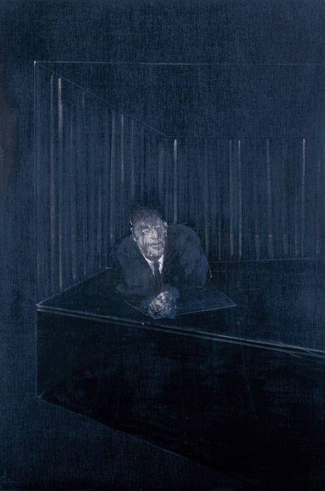 Francis Bacon / Man in Blue IV,1954
