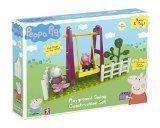Peppa Pig Playground Swing Construction Set (Multi-Colour)