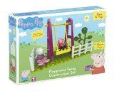 Peppa Pig Playground Swing Construction Set (Multi-Colour)