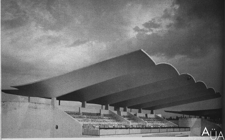 ARCHITECTURE ÜBER ALLES - Hipódromo de la Zarzuela (1935) Madrid, Spain....