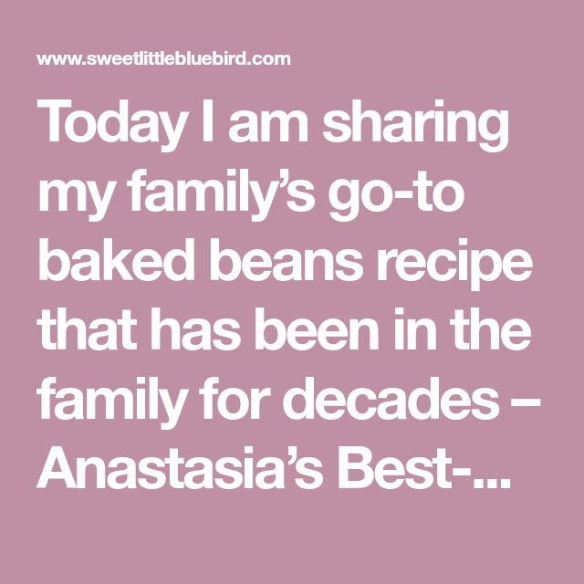 Today I am sharing my family's go-to baked beans recipe that has been in the family for decades – Anastasia's Best-Ever Baked Beans! These area must-have at family barbecues! Simple to make, so darn good. Pork and beans with sauteed onions, molasses, brown sugar, ketchup, mustard, and bacon… a big ol' dish of comfort. Did...Read More