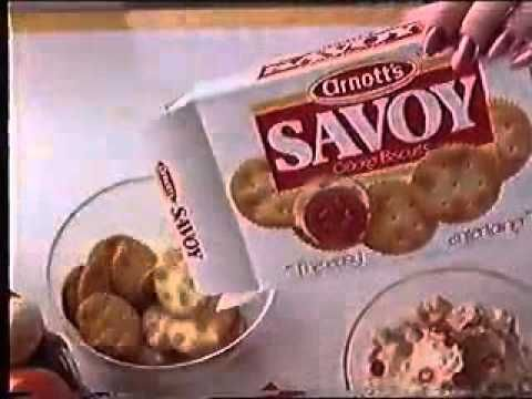 Australian Ad Arnotts Savoy - 1987 - YouTube