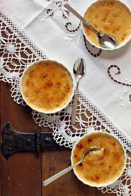crema cotta caramellata alle mele              #recipe #juliesoissons