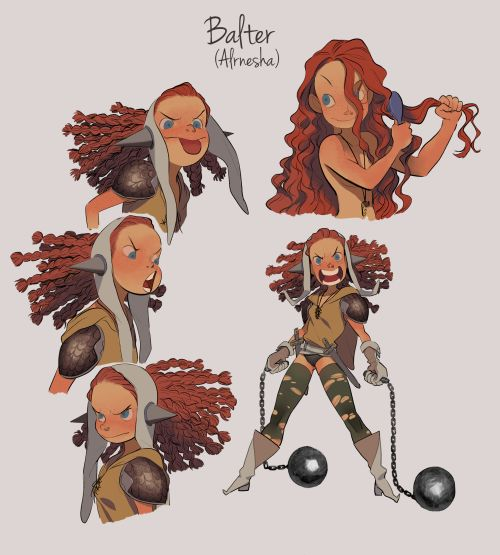 Human hunters Alrnesha, who is named balter now, is a princess of a defeated kingdom thung and borbo the orcs have discovered her when she was baby. they would supposed to eat her when she grew up, (they expect bigger one.) but they became to love...