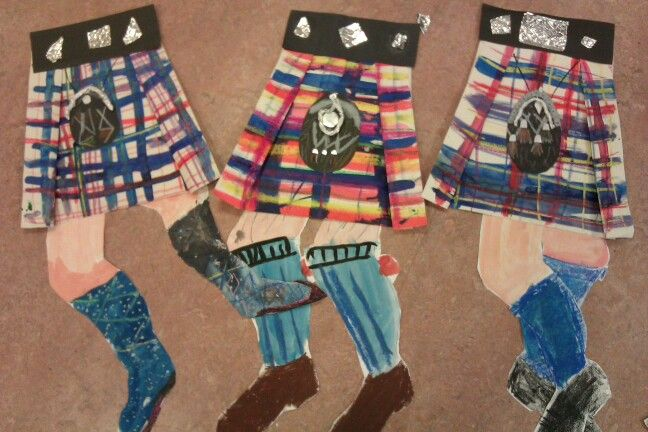 Scotland - tartan pattern