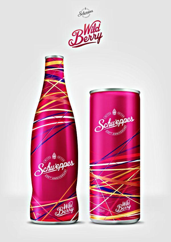 packaging design Schweps concept