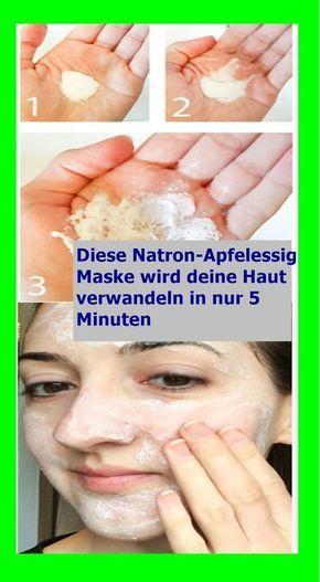 Diese Natron-Apfelessig-Maske wird deine…