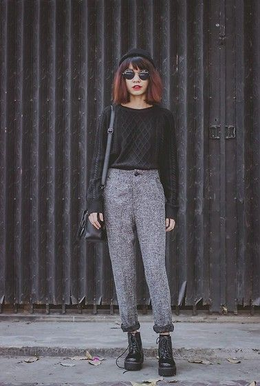 More looks by Phen Holy: http://lb.nu/phenholy  #grunge #preppy #punk